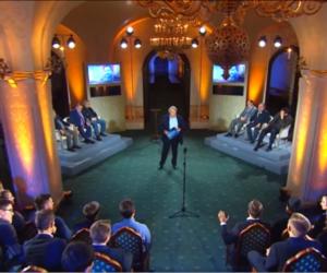 Фрагмент эфира на канале Спас о России и Украине